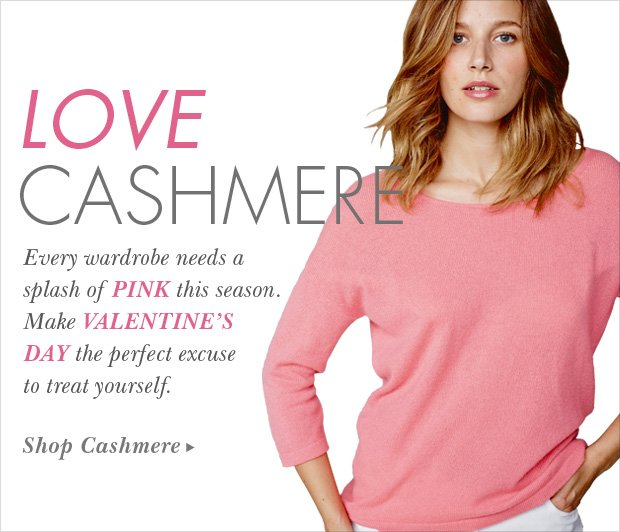 Download Images: Love Cashmere with 25% off plus free shipping and returns