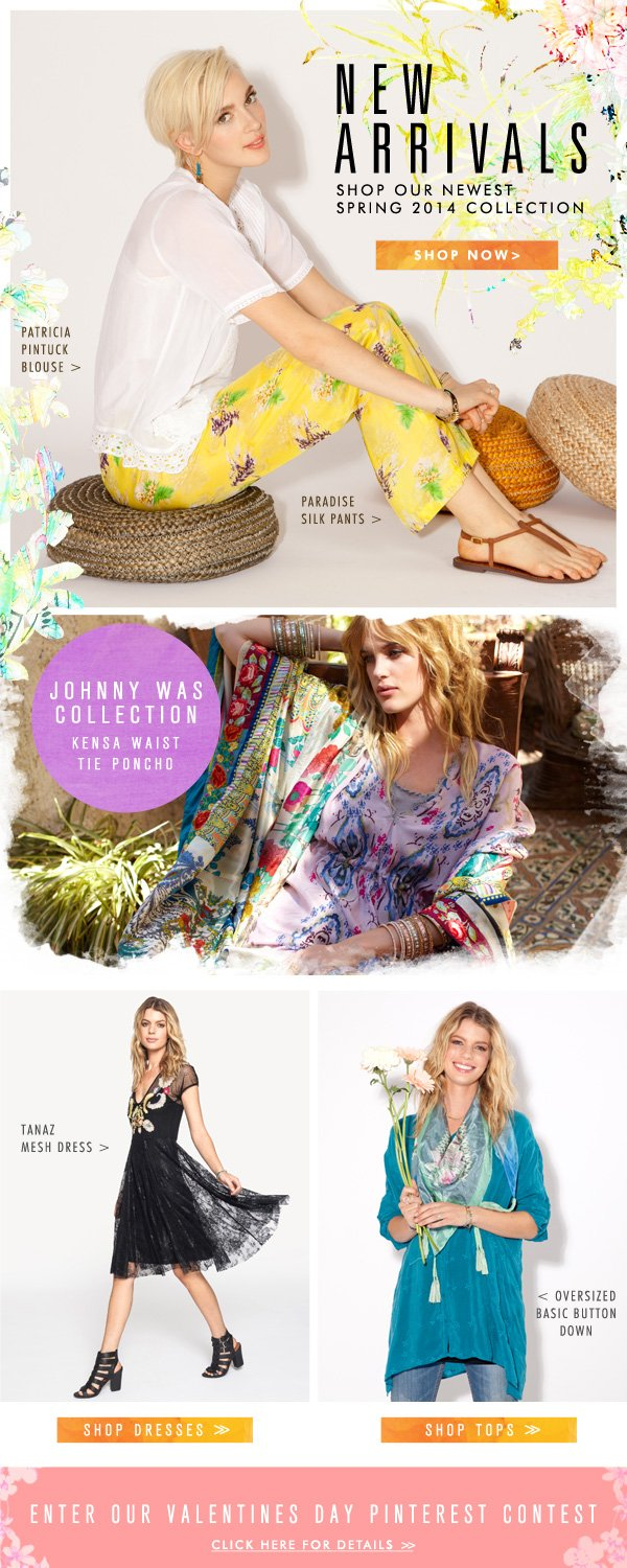 New Arrivals: Shop our newest spring Collection