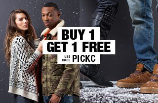 Pick & Choose: Footwear or Outerwear BOGO