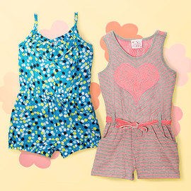 Sunny Styles: Girls' Rompers