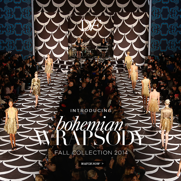 Introducing Bohemian Wrapsody: Fall 2014 Collection. Watch Now.