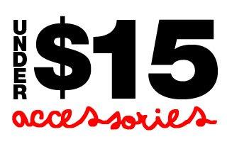 Accessories Under $15