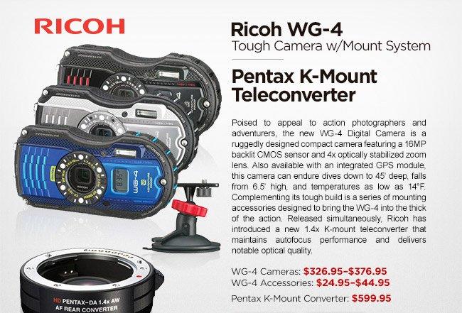 Ricoh WG-4 and Pentax K-Mount Teleconverter