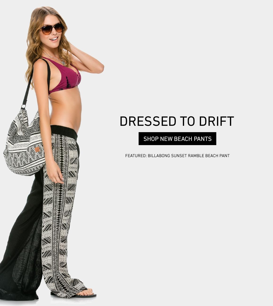Dressed To Drift: New Beach Pants