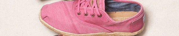 Pink Ceara Women's Cordones