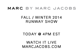 Marc Jacobs | Watch the Livestream