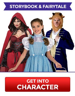 $10 Off Storybook & Fairytale Costumes