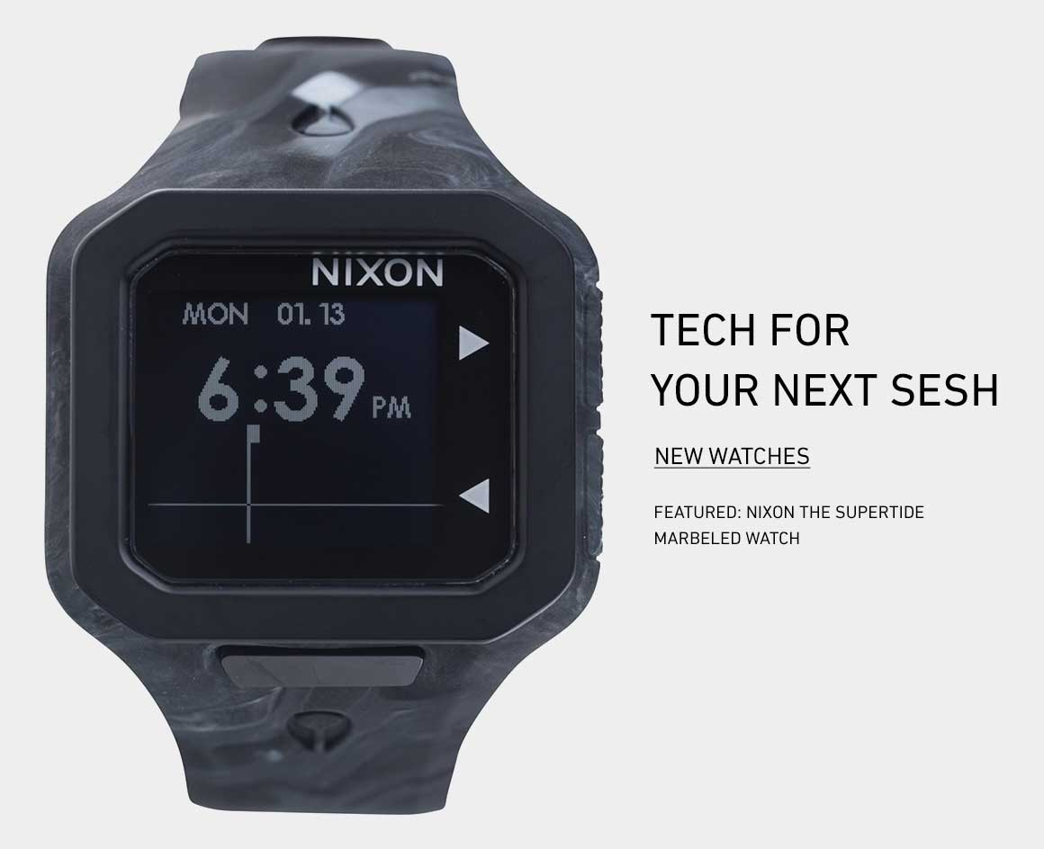 Tech for your Next Sesh: New Watches