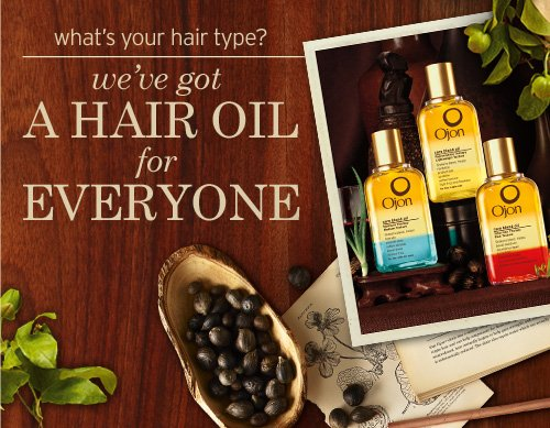 What's is your hair type? we've got A HAIR OIL for EVERYONE