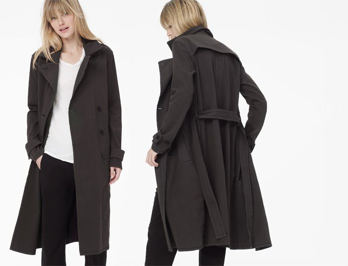 JAMES PERSE LOS ANGELES - THE MILITARY OVERCOAT