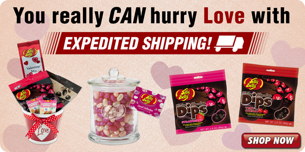 Hurry Your Love with Expedited Shipping!