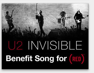 U2 Benefit Song for (RED)™
