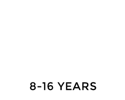 8-16 YEARS