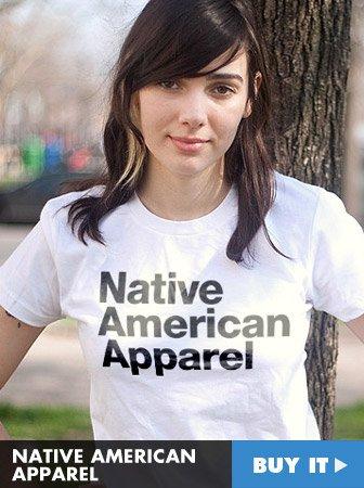 native american apparel