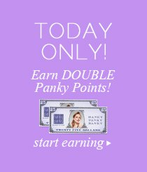 Today Only! Double Panky Points.