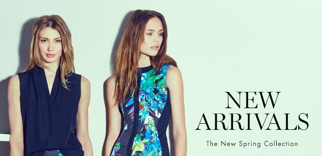 NEW ARRIVALS | The New Spring Collection