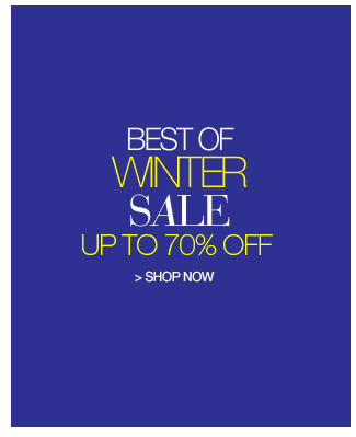 Shop Best of Winter Sale, Up to 70% Off