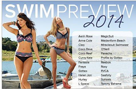 Swimwear Preview 2014