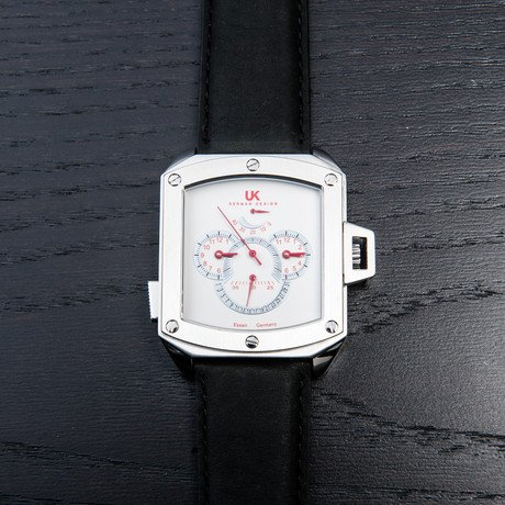 Uhr-Kraft HeliCop III Automatic // White