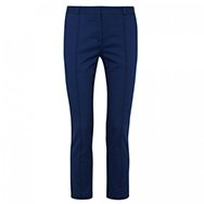 VICTORIA BECKHAM DENIM - Cropped stretch cotton twill trousers