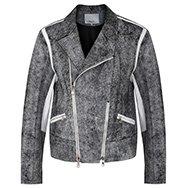 3.1 PHILLIP LIM - Monochrome leather jacket
