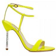 SOPHIA WEBSTER - Nicki patent leather sandals