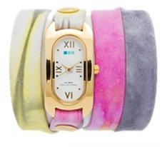 Pastel Watercolor Soho Wrap Watch