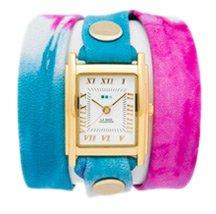 Malibu Tie Dye Blue Wrap Watch