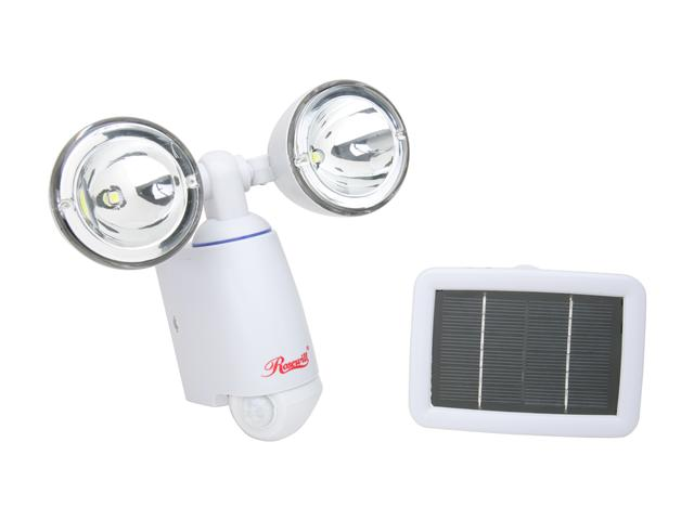Rosewill RSL-113 Dual Head PIR motion sensor Solar Light