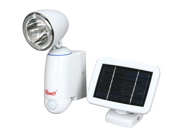 Rosewill RSL-112 Single Head PIR motion sensor Solar Light