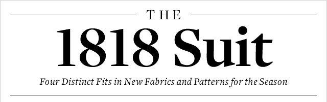 THE 1818 SUIT