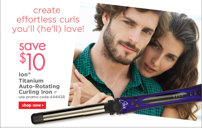 Ion Titanium Auto-Rotating Curling Iron