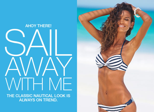 Sail Away With Me - The classic nautical look is always on trend