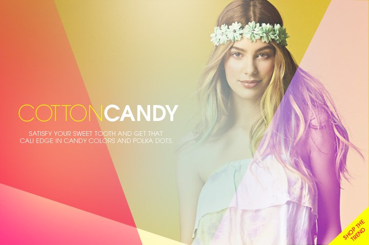Cotton Candy - Shop the Trend