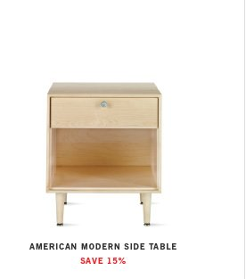AMERICAN MODERN SIDE TABLE SAVE 15%
