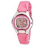 Casio LW200-4B Women's Sports Pink Dial Pink Strap Digital Alarm Watch