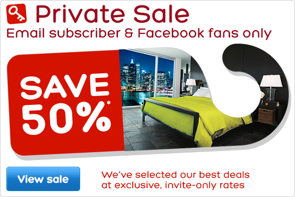 Private Sale - Email subscribers & Facebook fans only - Save 50%*