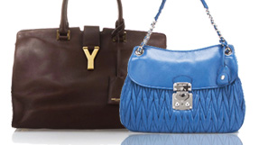 YSL, Prada, Miu Miu and Alexander McQueen Handbags