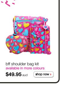 bff shoulder bag kit - available in more colours - $49.95aud - shop now