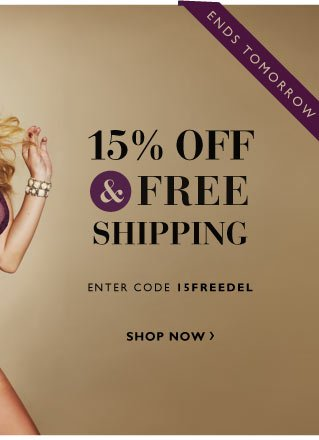 Top Rated Products 15% off and Free Shipping