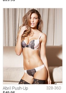 Abril lingerie set