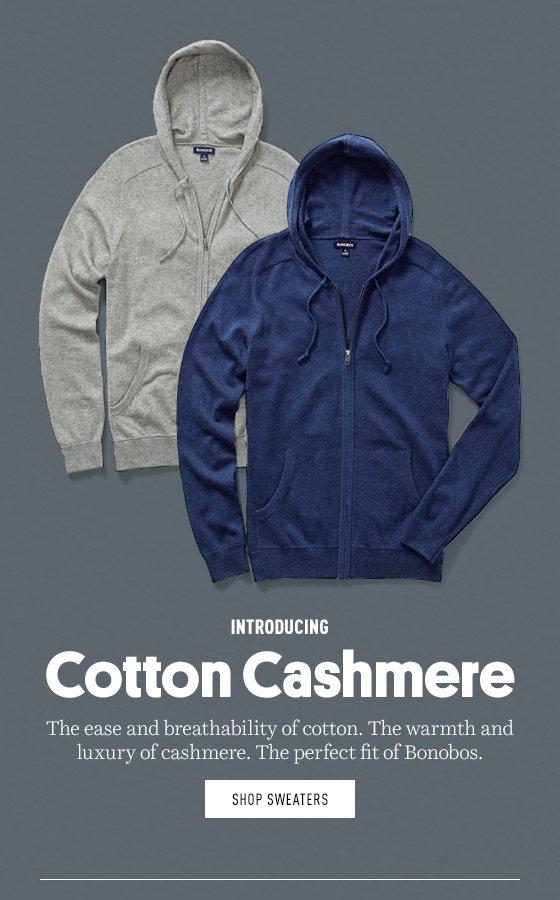 Cotton Cashmere Sweaters