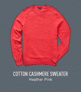 Heather Pink Sweater
