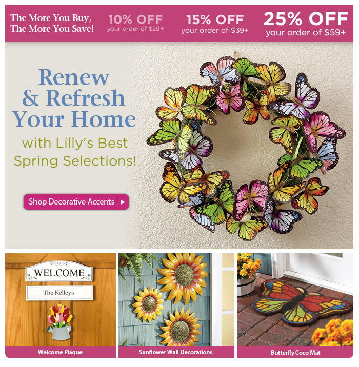 Renew, Refresh, and Reconnect with SAVINGS — Up to 25% OFF!