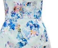 Ariella Printed Bodycon Dress.