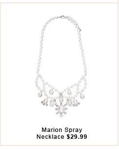 Marion Spray Necklace.