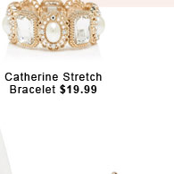 Catherine Stretch Bracelet.