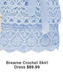 Brearne Crochet Skirt Dress.