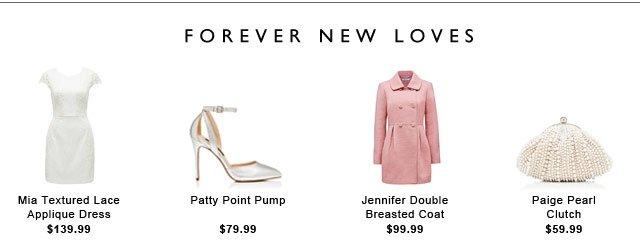 FOREVER NEW LOVES