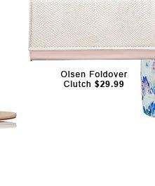 Olsen Foldover Clutch.